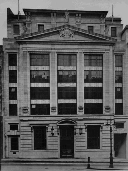 23rd November 1929. New Commercial Union Building