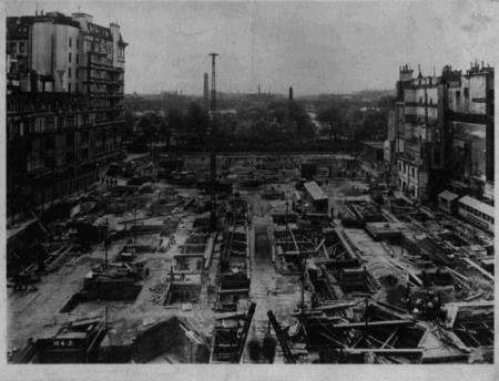 12 June 1931.  Shell Mex House site
