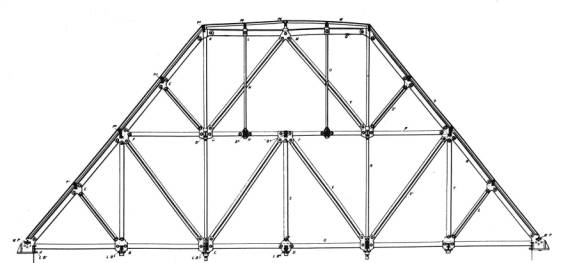 House of Lords Roof Truss